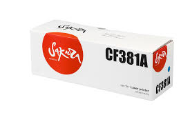 <b>Картридж SAKURA CF381A</b> для HP MFP M476, синий, 2700 к ...