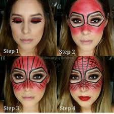 spiderman makeup for