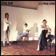 The <b>Jam</b>, '<b>All Mod</b> Cons'   Paul weller, Album covers