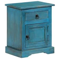 Tidyard <b>Bedside</b> Table Nightstand Retro <b>Bedside Cabinet Bedroom</b> ...