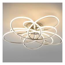 Потолочный светодиодный <b>светильник Eurosvet 90143/5 хром</b> ...
