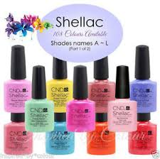 <b>CND SHELLAC</b> GEL UV COLOR~Full CND Range Available~Select ...