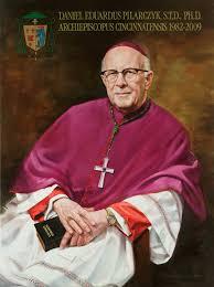 The official <b>portrait</b> of <b>Archbishop</b> Daniel Pilarczyk by Tim ...