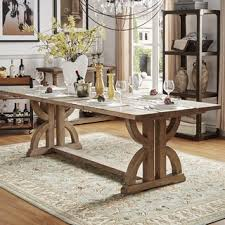 7ft dining table: signal hills paloma salvaged reclaimed pine wood rectangular trestle table