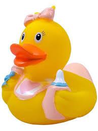 """Игрушка для ванной """"Уточка Ребенок Девочка """"<b>Funny Ducks</b> 1848 ..."""