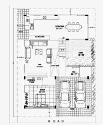 Luxurious Duplex House Plan ×   Ghar PlannerThis duplex house plans consist of pooja cabinet and washing area   kitchen  This duplex house plan has two car parking