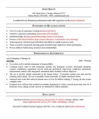 free general resume templategeneral resume template