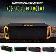 New Mini Wireless <b>Bluetooth Speaker USB</b> Flash <b>TF</b> FM Radio ...