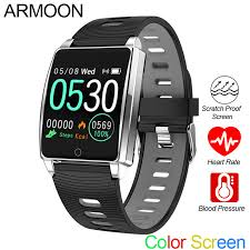 <b>Smart Watch</b> Android IOS Heart Rate Bracelet Blood Pressure ...