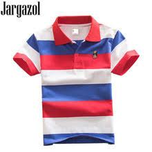 Jargazol/<b>Детская</b> Однотонная <b>рубашка Поло</b> Топы для маленьких ...