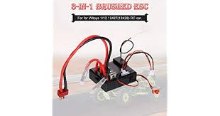 compatible with <b>Wltoys</b> 1/12 <b>12427</b> 12428 <b>RC Car</b> ESC 3-in-1 ESC ...