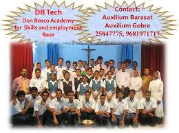 db tech don bosco academy for skills and employment base db tech