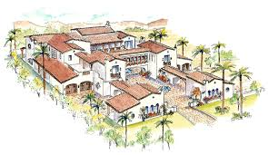 Spanish House Plans With Courtyard   thorbecke co    Oct       Wonderful Spanish House Plans With Courtyard   Spanish Style House Plans With Courtyard
