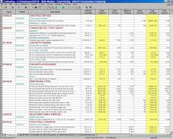 best photos of residential construction budget template home construction cost estimate spreadsheet