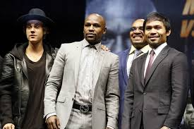 Image result for Mayweather vs Pacquiao