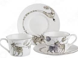 <b>Чайная пара Lefard</b> «<b>Котики</b>» купить по низкой цене в Москве и ...