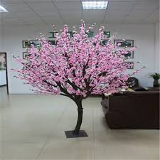 sjw5656 artificial flowers treepink artificial cherry bonsai tree for office decor bonsai tree for office