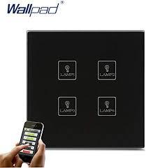 |Switches|Smart <b>WiFi 4 Gang Switch</b> New Design Wallpad White ...