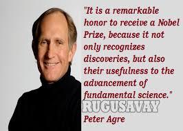 Peter Agre Quotes. QuotesGram via Relatably.com