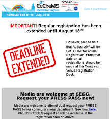 euchems latest newsletters euchems congress in seville  n 10 2016