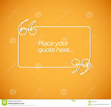 blank quote template stock illustration image  blank quote template