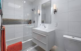 bathroom niches: view in gallery tub and shower combo design view in gallery