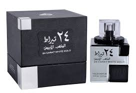 <b>24 Carat White</b> Gold - Eau De Parfum (100 ml - 3.4Fl oz) by <b>Lattafa</b> ...