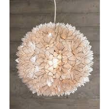 decorative capiz shell lotus flower pendant light fixtures capiz lighting fixtures