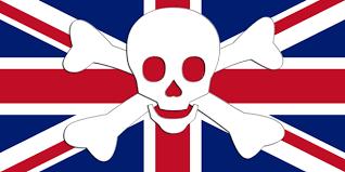 Resultado de imagem para pirataria antiga na inglaterra