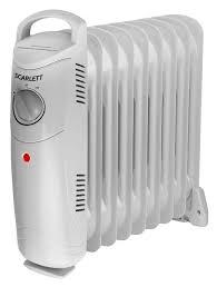 Купить <b>Масляный радиатор SCARLETT SC</b>-1159, белый в ...