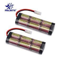 MELASTA <b>2pcs</b>/<b>lot</b> 7.2V 4200mAh NIMH Battery Pack with Tamiya ...