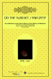 on the surface skin deep interview the curators de re medica on the surface skin deep poster