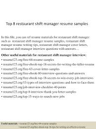 toprestaurantshiftmanagerresumesamples lva app thumbnail jpg cb