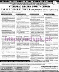 new career hesco excellent jobs hyderabad electric supply company new career hesco excellent jobs hyderabad electric supply company head office jobs 2017 for chief executive