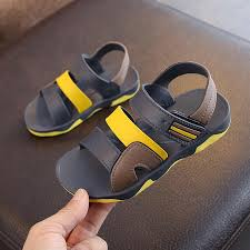 2019 <b>New Summer</b> Children Sandals for Boys <b>Flat</b> Beach Shoes ...