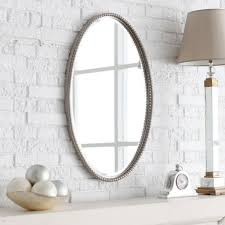 small bathroom clock: oval bathroom mirrors with clock oval bathroom mirrors with clock oval bathroom mirrors with clock