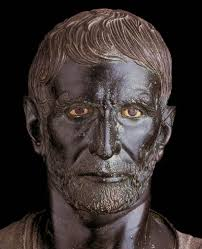 brutus bronze portrait etruscan world portrait brutus bronze portrait