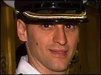 Lieutenant Chris Saunders (Pic: Canadian Department of National Defence). Lt Chris Saunders died of smoke inhalation - _40168662_chrissaunders203