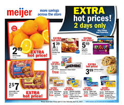 meijer weekly ad  4 3 2 1