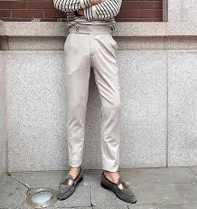 Luxury Versatile Casual Pants <b>Fashion</b> Solid Color Trousers <b>2020</b> ...