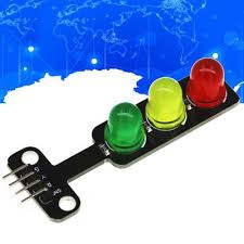 1/5/10PCS 5mm <b>5V LED Mini Traffic</b> Lights Light Digital Signal ...