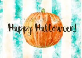 Watercolor <b>Halloween pumpkin digital print</b>, watercolor vegetables ...
