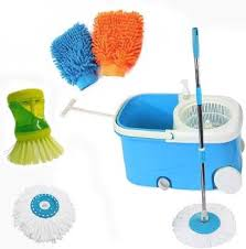 V-Mop ELITE-<b>113</b> Mop Set, Glove, Toilet <b>Brush</b> Price in India - Buy V ...