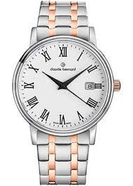 Наручные <b>часы Claude Bernard</b> с белым циферблатом ...