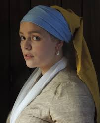 girl a pearl earring costume