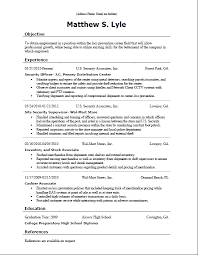 resume template  resume need objecti  selfirm    resume template  resume need objective with security officer experience  resume need objective