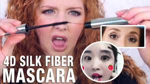Instagram Makeup Review | <b>4D Silk Fiber Mascara</b> - YouTube