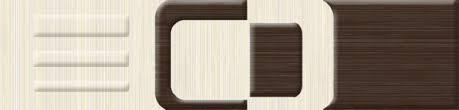 <b>Бордюр керамический Golden</b> Tile Вельвет бежевый 6х25см ...
