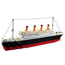 1021PCS <b>Sluban</b> B0577 <b>Building</b> Block Toy Cruise Ship RMS ...