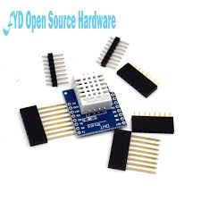 1pcs DHT Pro Shield D1 mini <b>DHT22</b> AM2302 <b>Single bus</b> Digital ...